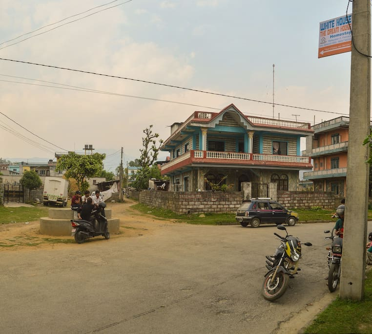 Direction to home stay