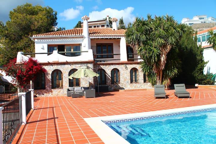 Utsikt hav Salobrena Costa del Sol - ซาโลเบรนา - บ้าน