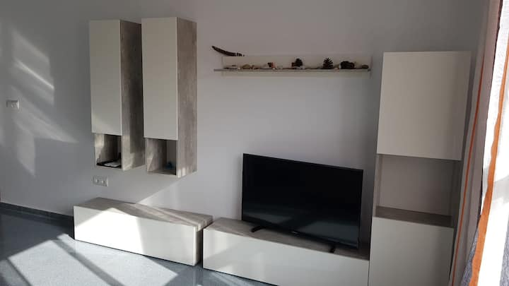 Spacious apartment in 200m from the beach