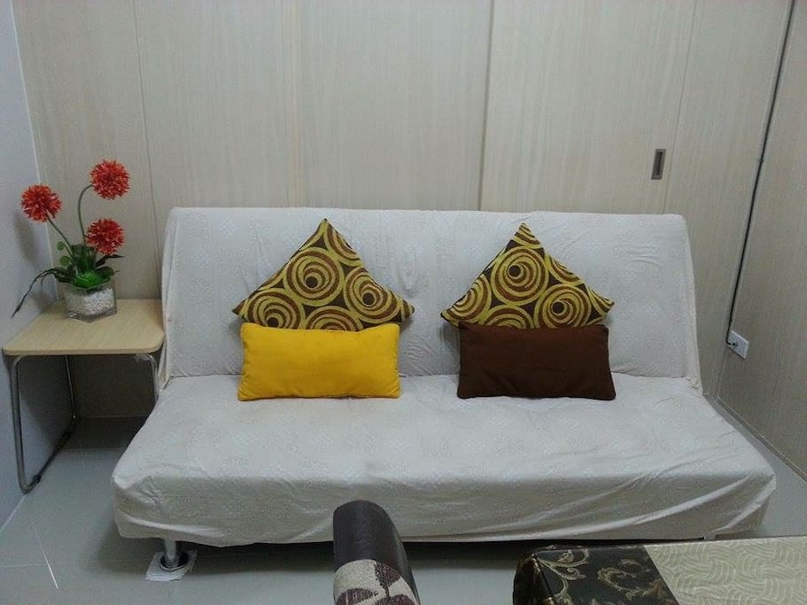 Sofa bed good for 2 person
