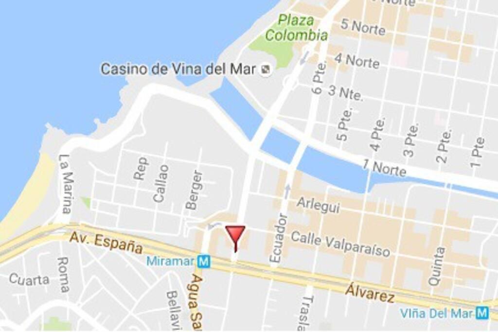 Excelente ubicación, cerca del borde costero y atractivos de la ciudad: Reloj de Flores, Casino, Quinta Vergara, Parroquia, etc.