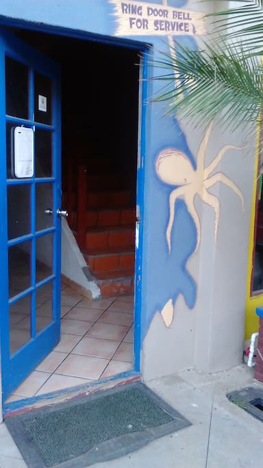 A little boutique hotel south of Rosarito, north of Ensenada, Squidward Q welcomes you!!!