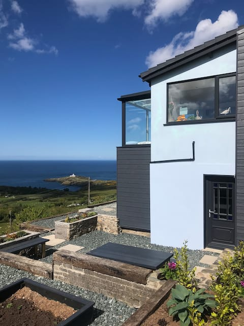 Studio with spectacular views