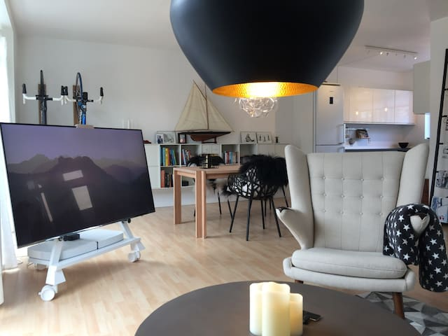Moderne rækkehus i Nordsjælland
