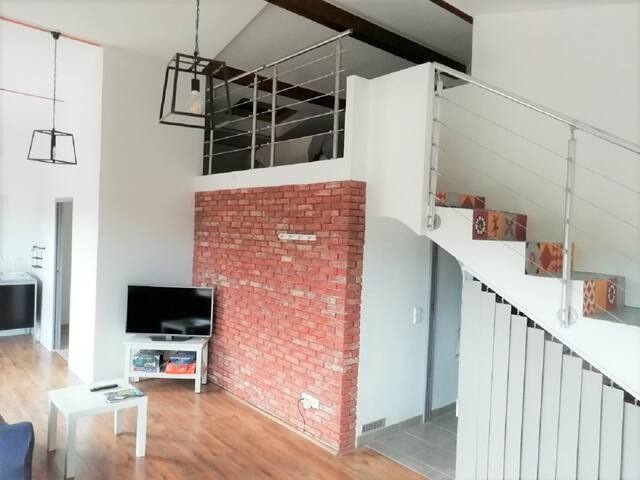 Appartement contemporain duplex 60m2