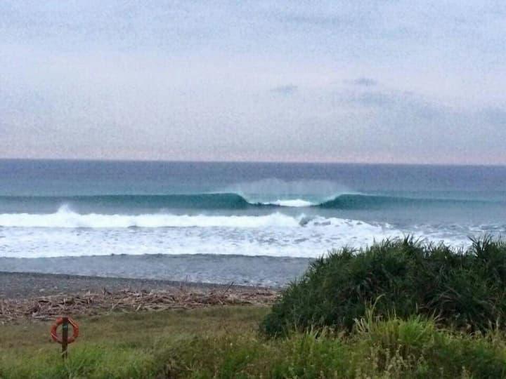 來自海洋的右跑浪 the ocean breeze