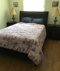 Room 2- Bedroom with Queen Bed