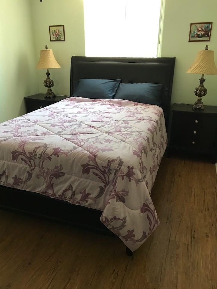 Room 2- Bedroom with Queen Bed