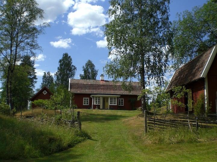 Johansberg, traditionelles Schwedenhaus