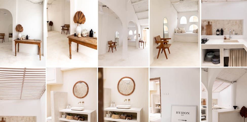 New all white mediterranean villa in Canggu