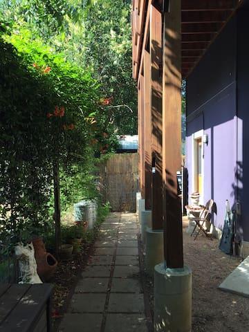 Artist's  East Side Studio