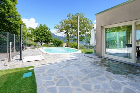 Lake Como - Alex 2 with swimming pool for a family