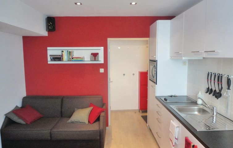 Holiday apartment with 1 bedroom on 30 m² in Oostende