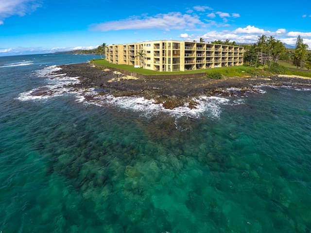 Oceanfront, Step out to the Sea - Poipu - Appartement en résidence