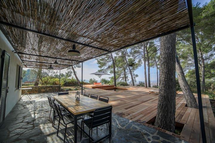 Villa dans les pins à 6 min d'Aix en provence