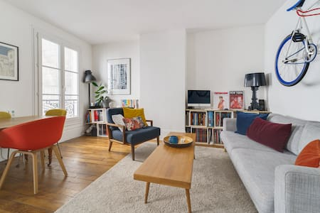 CHARMING AND WARM APARTMENT IN 18TH ARRONDISSEMENT OF PARIS
