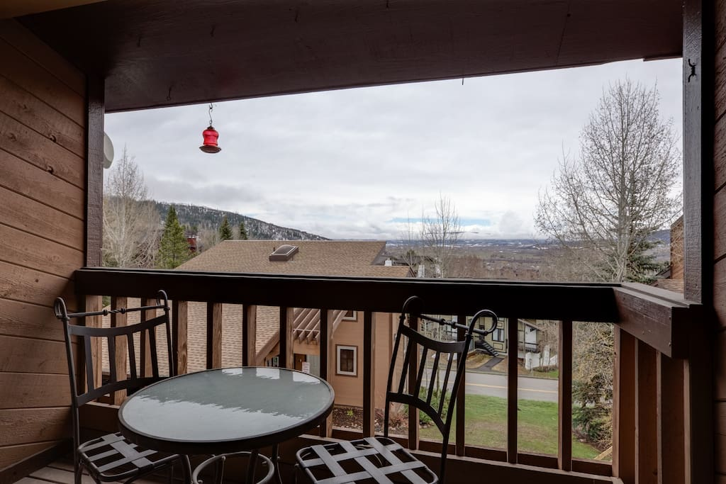 Your own private perch. The view is amazing!