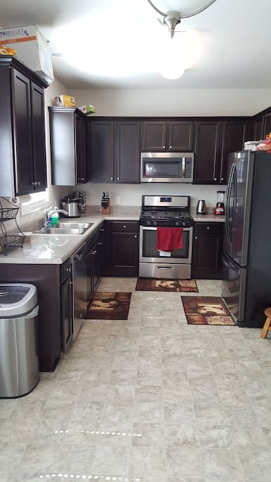 The sparkle clean kitchen