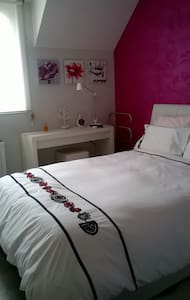Chamber nearby TGV station and A4 - Reims - Apartment