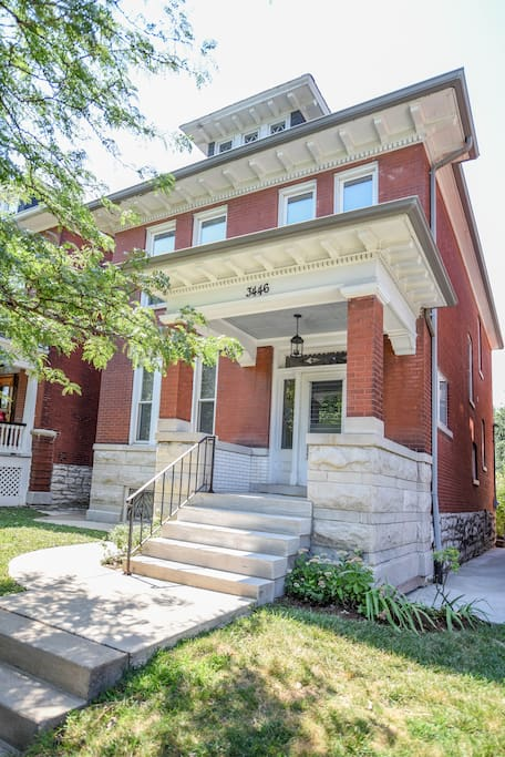 Classic Historic St. Louis home beautifully maintained and preserved.