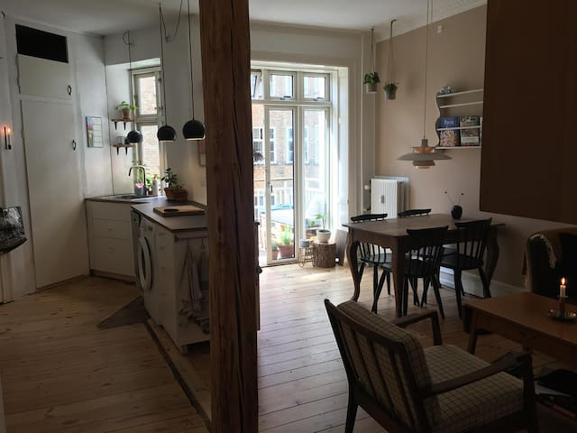 Cozy apartment in the heart of Copenhagen