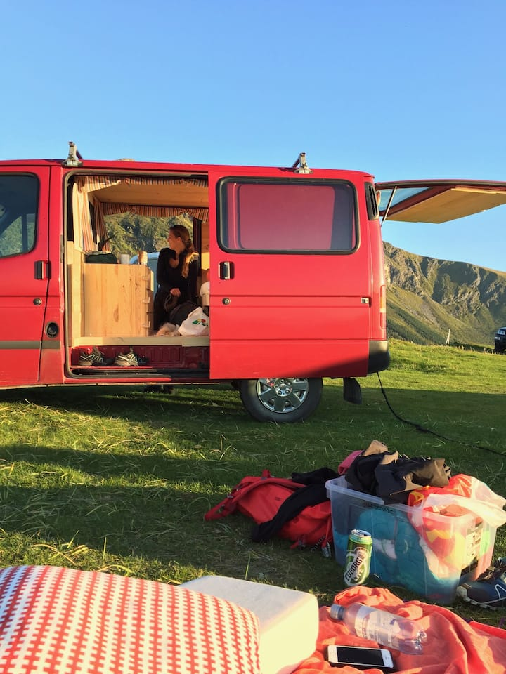 1-2 person camper van
