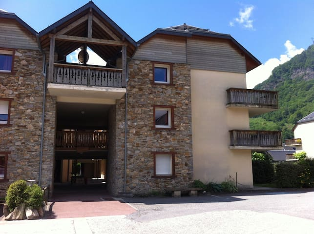 Appartement 3 pièces avec jardin. - Bagnères-de-Luchon - Wohnung