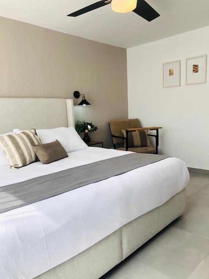 CH101 Habitación tipo Hotel 5 Min Expo Guadalajara