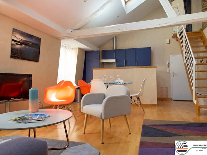 Ty Loft Parlement - 2 bedrooms with elevator