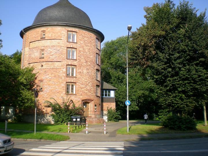 85qm Turmwohnung im ♥ Altstadt, ruhig