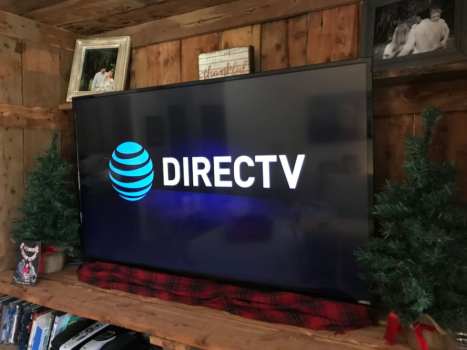 4K TV equipped with DirectTV and the Sports Package (SEC network, ESPN, etc...)