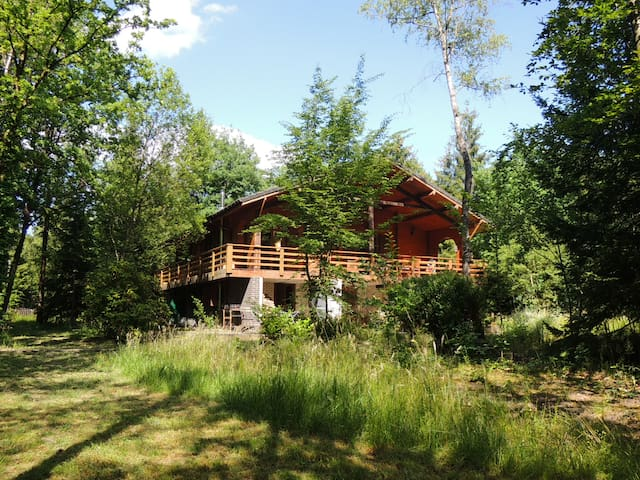 Chalet Bed & Breakfast in the Ardennes Forest
