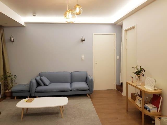 스테이1978-느린장흥,조용하고 평온한 휴식이 있는  단독주택 독채 전체  6인실-최대8인