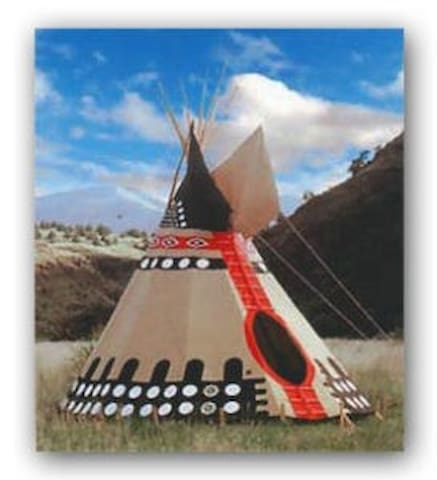 #4 Stunning High Plains Tipi, Native American Tipi