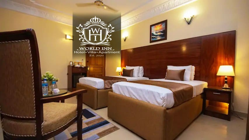 Deluxe Double/Twin Bed at World Inn Hotels Karachi