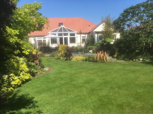 Southport house with lovely garden