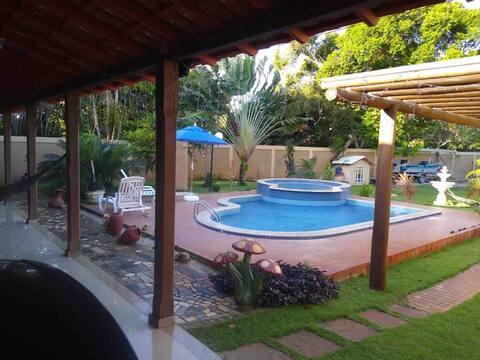 Casa con piscina en Conceicao da Barra - ES