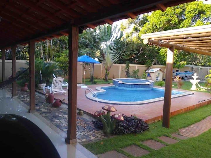 Casa com piscina em Conceição da Barra - ES