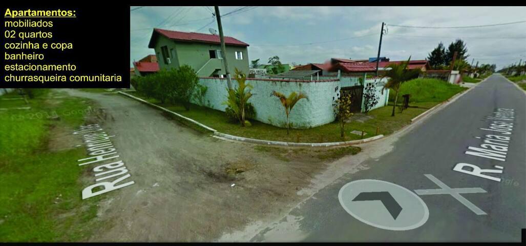 Aptos temporada Ilha Comprida - Ilha Comprida - Apartamento