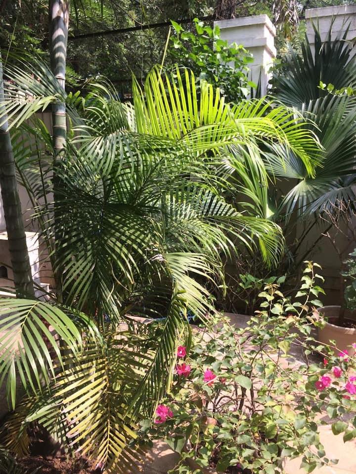 Kailash Villa terrace with play area