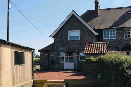 Rural cozy cottage nr Lowick, recently renovated