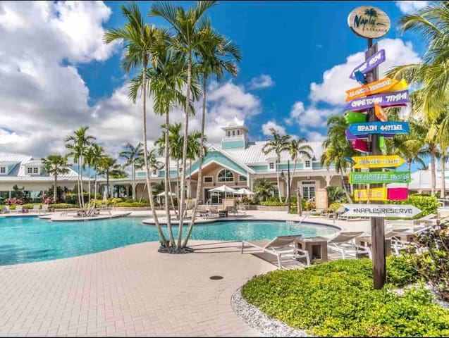 Naples, Marco Island, Lely.  3 BR close to it all.