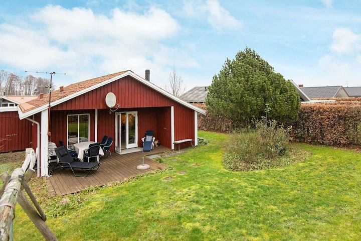 Classic Holiday Home in Bjert with Terrace