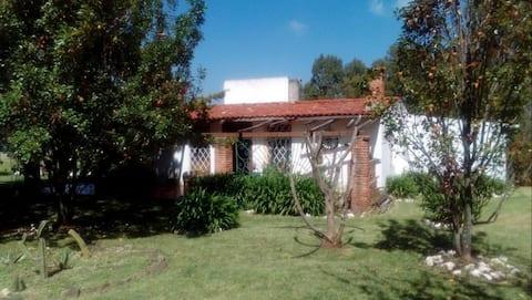 Casa de campo una hora de la Ciudad de México, D.F