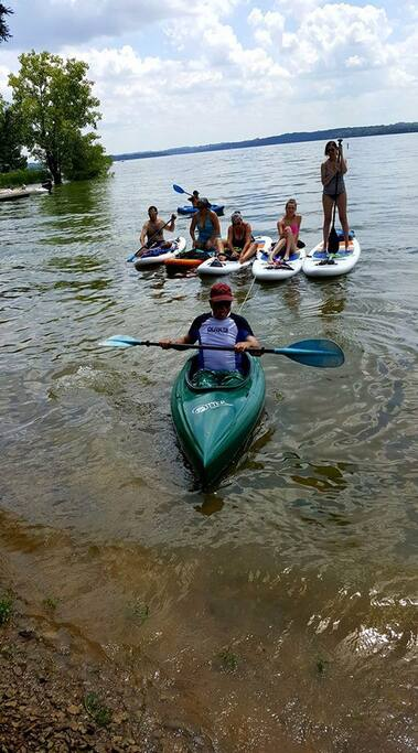 Ask About our Paddleboard Rental