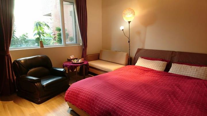 Amber Villa 琥珀藝墅家, Healing Home with Bed & Bath
