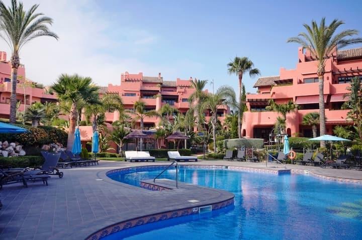 Frontline Two Bedroom Beach Apartment near Estepona & Marbella