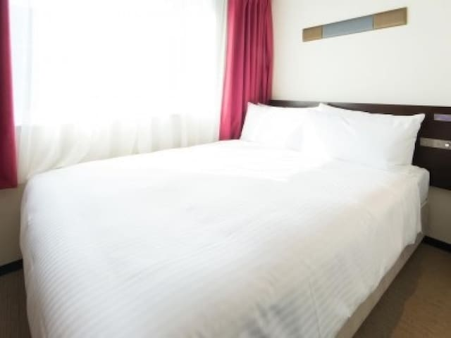 1 min to JR Kyoto Station/Perfect location! Free WiFi/ Standard Double Room 【Non-smorking】