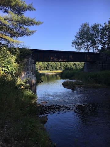 Patterson Creek camp