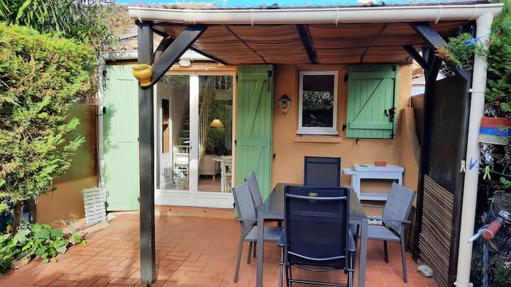 La Franqui villa 5 pers tte équipée wifi  piscine